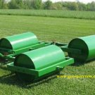 "Gang Turf Rollers (3 - 48"" Rollers) Heavy Duty"