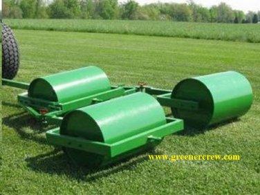 "Gang Turf Rollers (3 - 48"" Rollers) Heavy Duty"