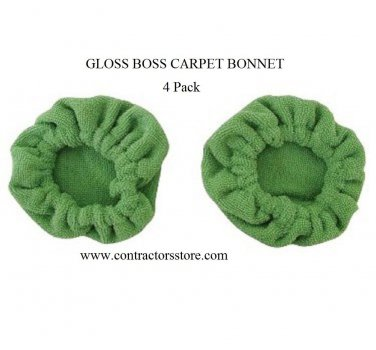 Gloss Boss Mini Carpet Bonnets 4 Pack