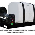 Sprayer 200 Gallon Fire/Dust Skid Sprayer with 8 Roller Delavan Pump