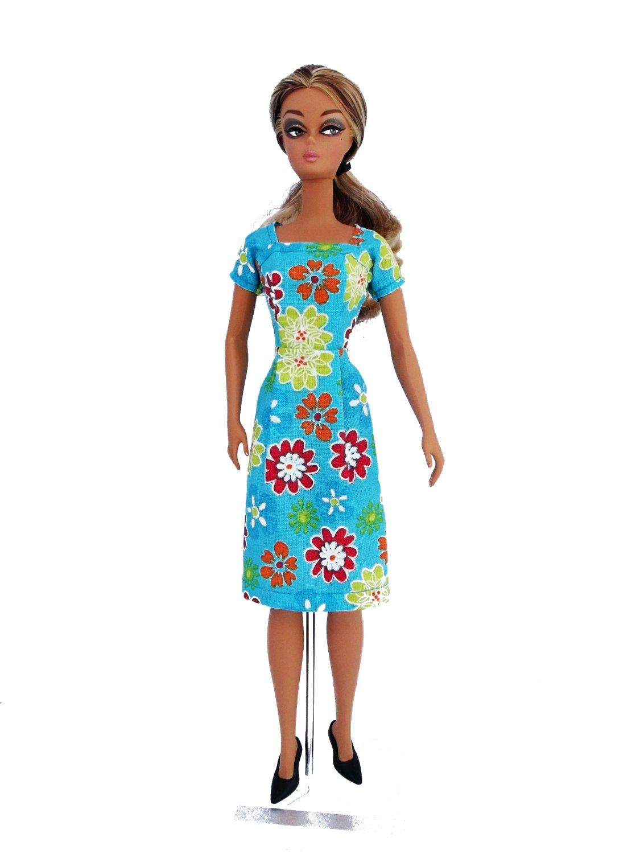 Barbie Clothes Barbie Dress Style Vintage Blue