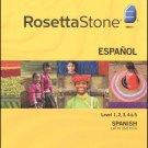 Rosetta Stone Spanish(Latin America 1-5) All 6 DVD Language Course