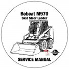 Bobcat Skid Steer Loader M970 Service Repair Manual CD