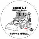 Bobcat Skid Steer Loader 873 Service Repair Manual 514115001-514213001 CD
