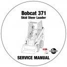 Bobcat Skid Steer Loader 371 Service Repair Manual CD