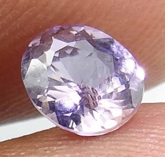 SPINEL Gem Natural 1.00 CT 6.71 X 5.54 MM Gorgeous Lavender Sparkles 12111516