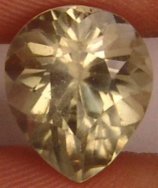 Kornerupine 4.20CT Rare Size Pear Cut Gemstone 11032544