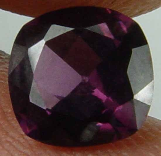 1.45CT Nice Cushion Cut Maroon Red Spinel 08090257