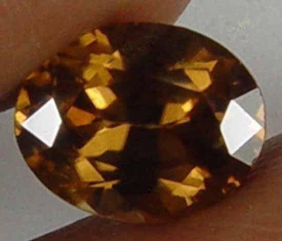 2.20CT Natural Ceylon Zircon Oval Gem  08071735