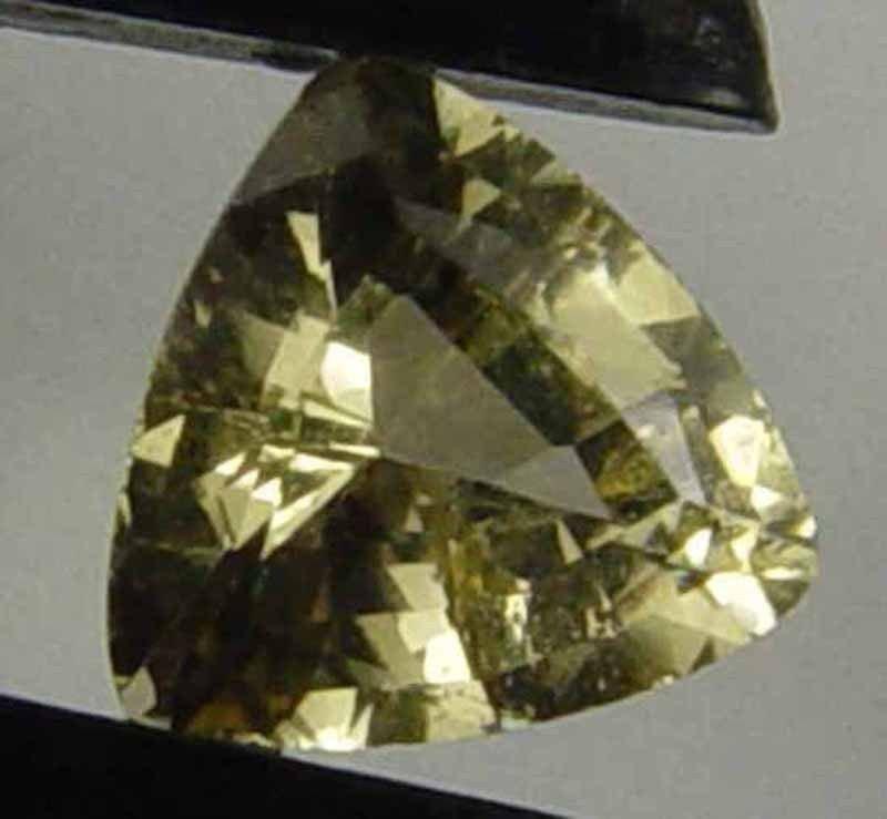 KORNERUPINE Natural 0.85  CT 6.49 X 6.18 MM Great Trillion Cut Rare Gem 06110113