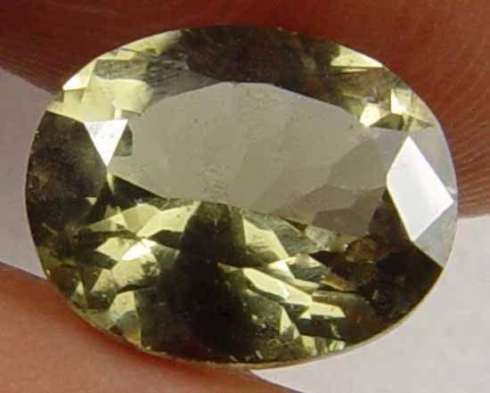 KORNERUPINE Natural 1.45 CT Oval Gem  Rare Collectors' Specimen 08050882