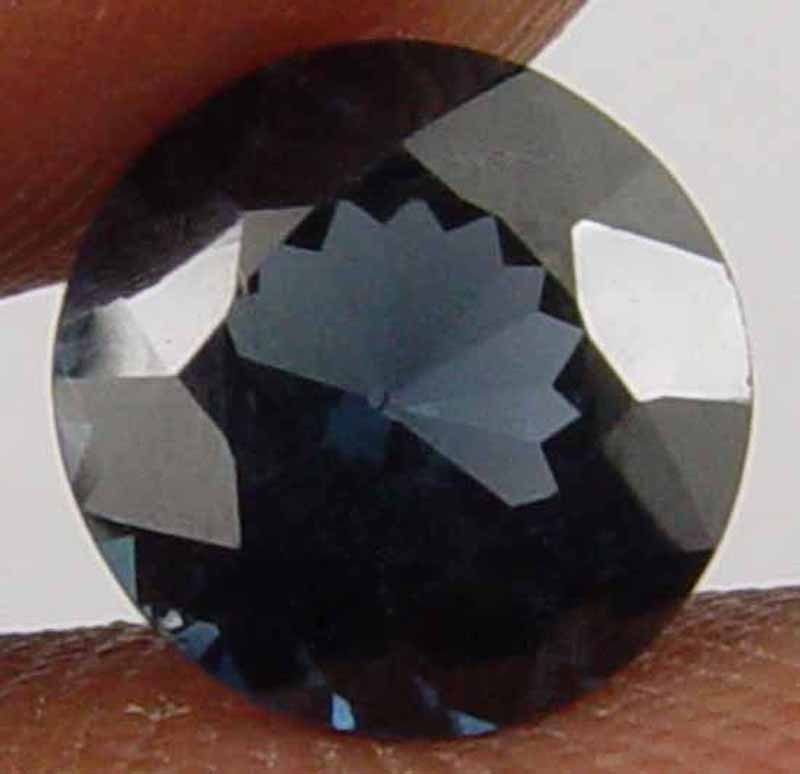 SPINEL Natural 2.00 CT 7.90 MM Round Cut Blue Color Loose Ring Stone 10051466