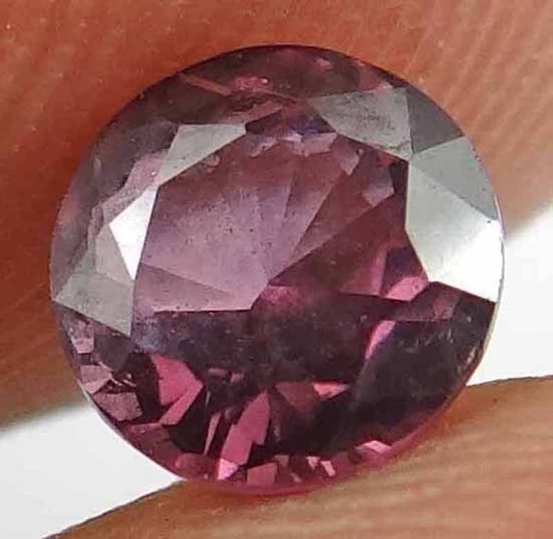 SPINEL Natural 1.05 CT 5.97 MM Gorgeous Magenta Red Color Round Cut Gem 12111888