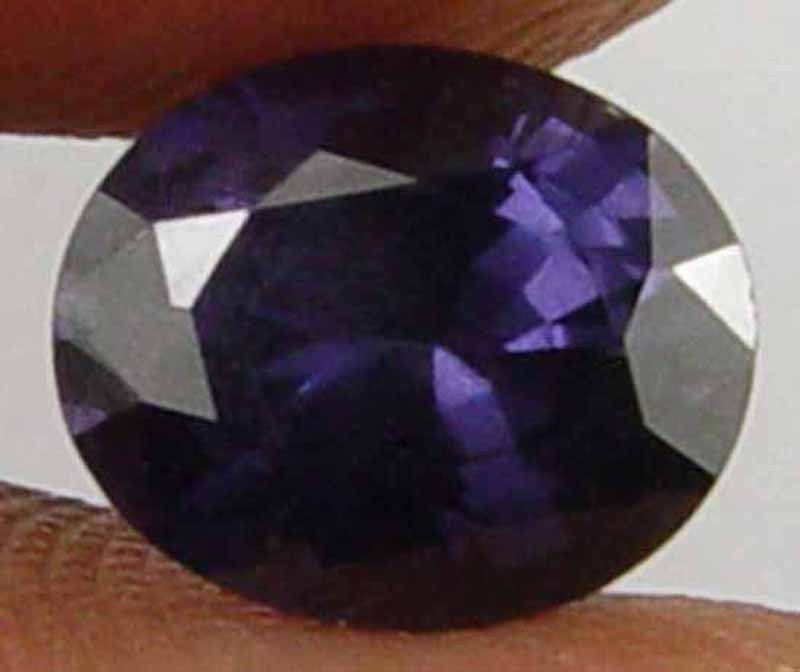SPINEL Natural  1.80 CT 8.27 X 6.90 MM Deep Purple Loose Ring Stone Gem 10051461