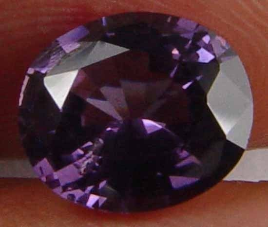 GLOWING FIRE! PURFECT OVAL! SPINEL 1.20CT 07081662