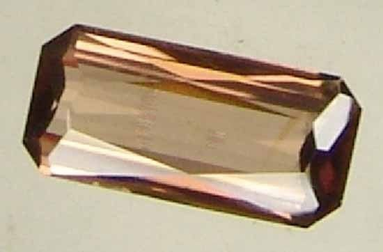 2.05CT Natural Beautiful Long Octagon Zircon 09040709