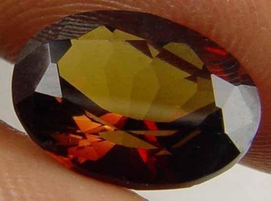 2.40CT 100% Natural Tourmaline Oval Gemstone 08030978