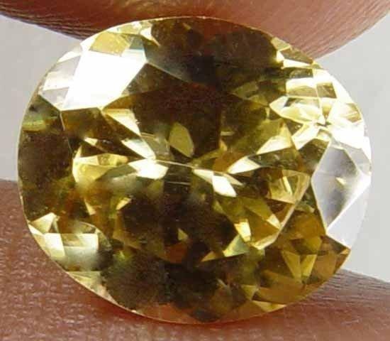 2.80CT Impressive Glow Natural Yellow Zircon 08042105