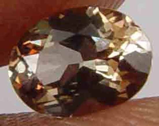 0.45CT 100% Natural Glowing Andalusite Gem 10051006