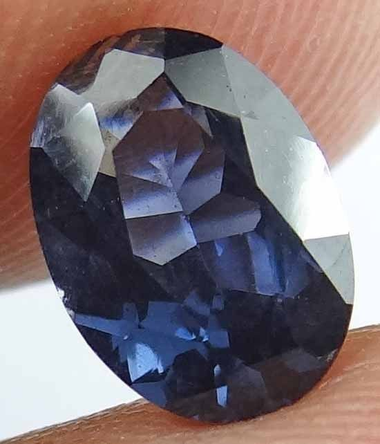 SPINEL Natural 1.75 CT 8.96 X 6.45 MM Oval Cut Blue Color Untreated Gem 12111825