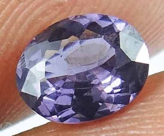 SPINEL Natural 1.15 CT 7.25 X 5.83 MM  Purple Color Untreated Gemstone 13021208
