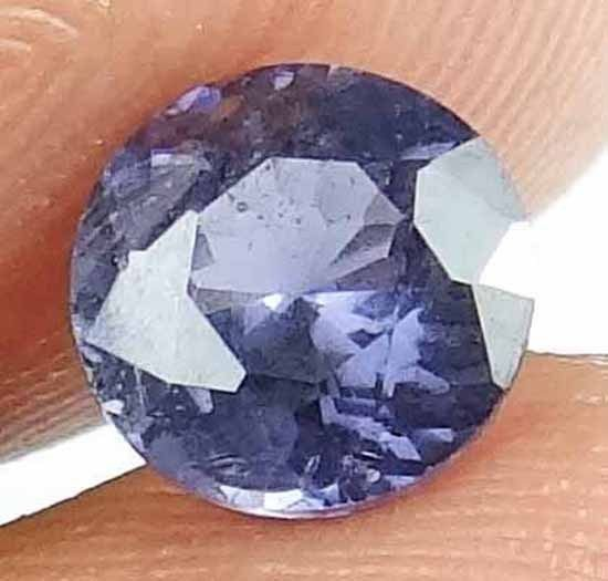 SPINEL Natural 1.25 CT 6.75 MM Untreated Faceted Gem Mined in Sri Lanka 13021232