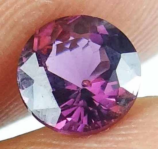 SPINEL Natural 1.15 CT 6.37 MM Rare Round Cut Gorgeous Color & Luster 13021220