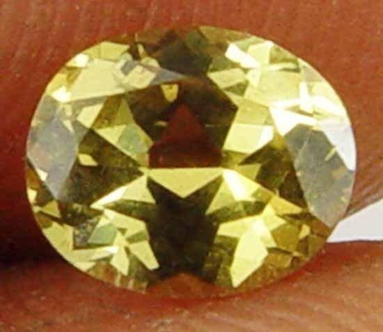 0.65Cts Nice Yellow Fire Gorgeous Natural Chrysoberyl Gem 11052116