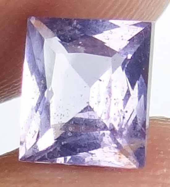 SPINEL Natural 1.25 CT 6.53 X 5.69 MM Beautiful Lavender Color Gemstone 13020545