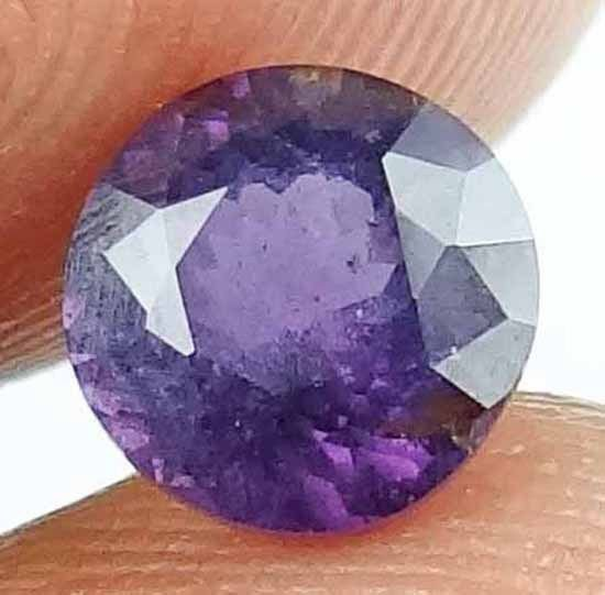 SPINEL Natural 1.50 CT 6.74 MM Gorgeous Color Rare Round Cut Loose Gem 13021265
