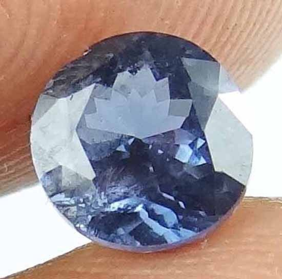 SPINEL Natural 1.30 CT 6.34 MM Gorgeous Round Blue Color Loose Gemstone 13021253