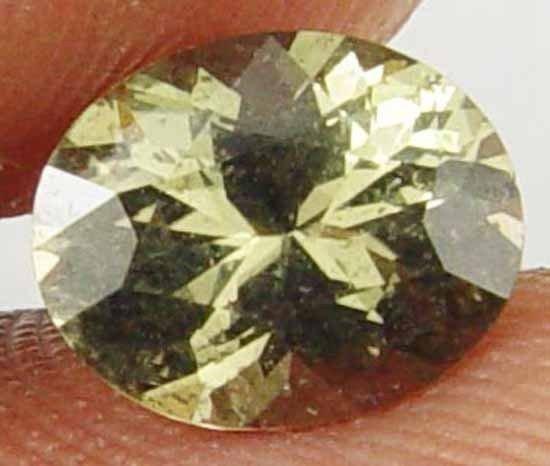 KORNERUPINE Natural 1.35 CT Nice Oval Cut Rare Collectors Gemsotne 11010366