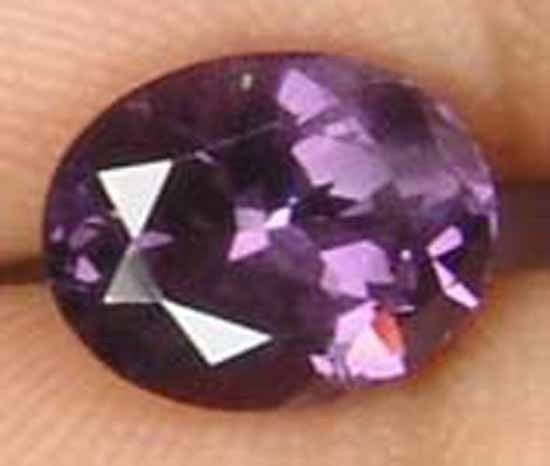 1.65CT 100% Natural Gorgeous Purple Spinel Gem 10110170
