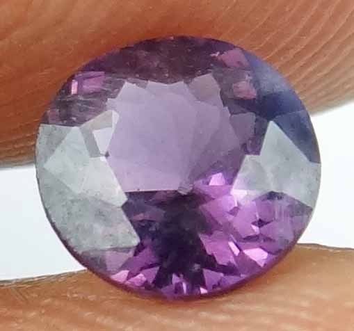 SPINEL Natural 1.10 CT 6.39 MM Round Cut Untreated Loose Gem Sri Lanka 13022553