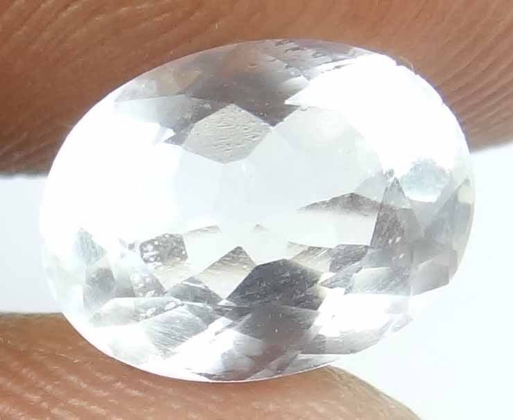 RARE FACETED MOONSTONE Natural 2.35 CT Rare Find Mostly Come in Cabs 13022531