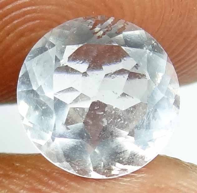 MOON STONE Natural 1.85 Carats 8.62 MM Rare Faceted Untreated Gemstone 13022534