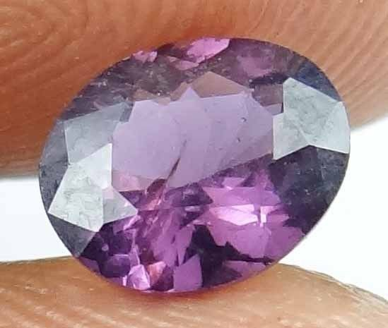 SPINEL Natural 1.3 CT 7.60 X 6.23 MM Beautiful Color Untreated Gemstone 13022540