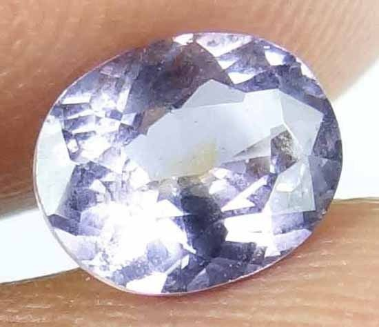 SPINEL Natural 1.25 CT 7.33 X 5.90 MM Oval Cut Untreated Loose Gemstone 13021856