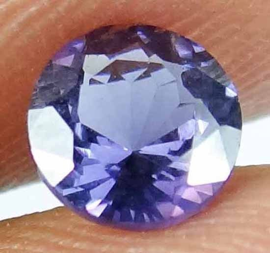 SPINEL Natural 0.85 CT Gorgeous Color Rare Round Cut Loose Ring Stone 13021883