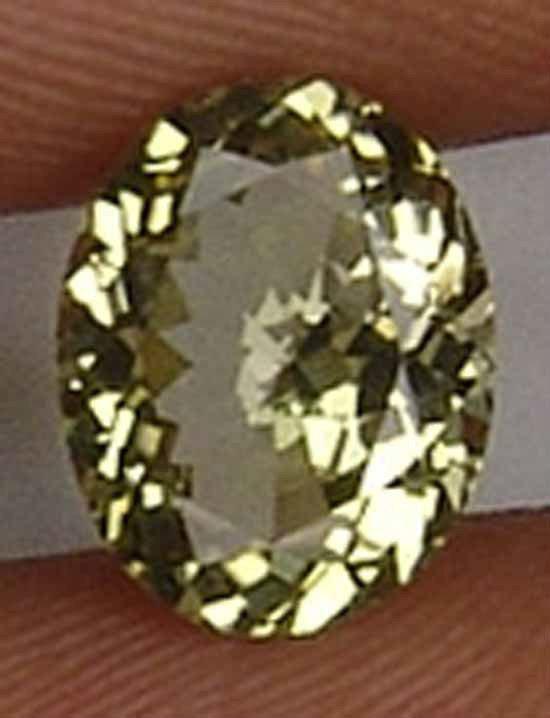 1.60CT Super Glowing Yellow Fire Kornerupine 10081628