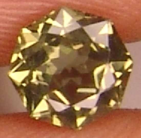 Fascinating Round Octagon 0.80Cts Rare Natural Kornerupine Gem 11060189