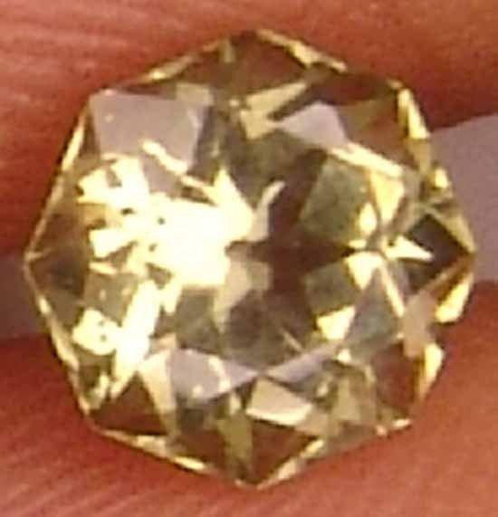 Igneous rock 0.95Cts Natural Kornerupine Well Cut Glowing Rare Gem 11060183