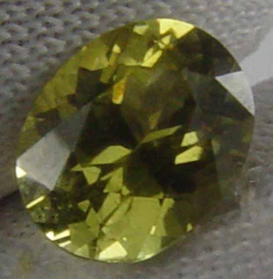 Unheated Natural Chrysoberyl 1.45 Ct 7.65 x 6.06 MM Vibrant Gemstone 12012525