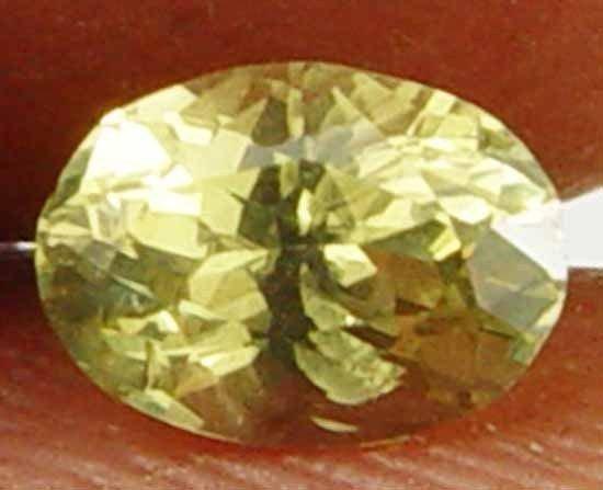 0.65Cts Natural Yellow Chrysoberyl Loose Gem 11052163