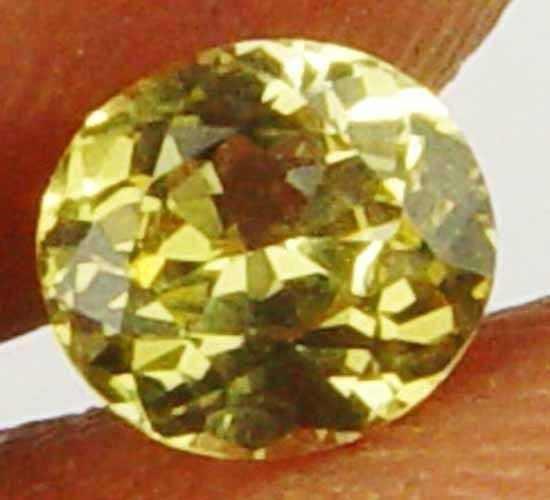 Chrysoberyl 0.65Cts Absolute Glow Nice Oval Natural Gem For Jewelry11052134