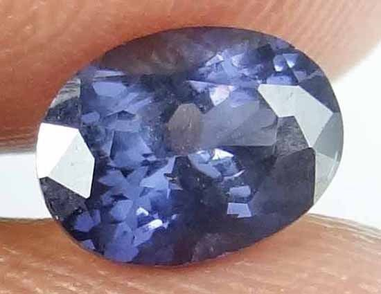 SPINEL Natural 1.55 CT 7.80 X 5.88 MM Oval Cut Untreated Blue Color Gem 13021822