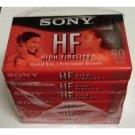 Sony C-90HFL High Fidelity 90 Min. Normal Bias Type I IEC I Audio Cassette