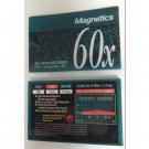 Magnetics 60x Type I Normal Position IEC I 60 Min Audio Cassette
