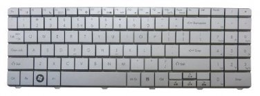 New US Layout Silver Keyboard for Gateway NV5423u NV5425u NV5435u NV5453u NV5462u NV5465u