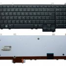 New Spanish Layout Black Keyboard with Backlit for Dell Studio 1735 1736 1737 series laptop
